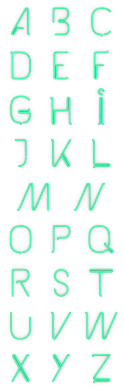 The Kabel Font, free by Mathias Nösel, via Behance