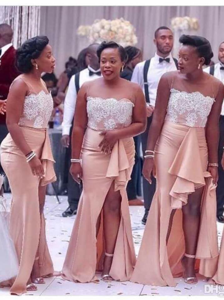 7060af7e39fbe Country Nigerian Bridesmaid Dresses Strapless Lace Mermaid Maid  Bridesmaid   Bridesmaiddress  dress  fashion  love  shopping  art  dress  women  mermaid  ...