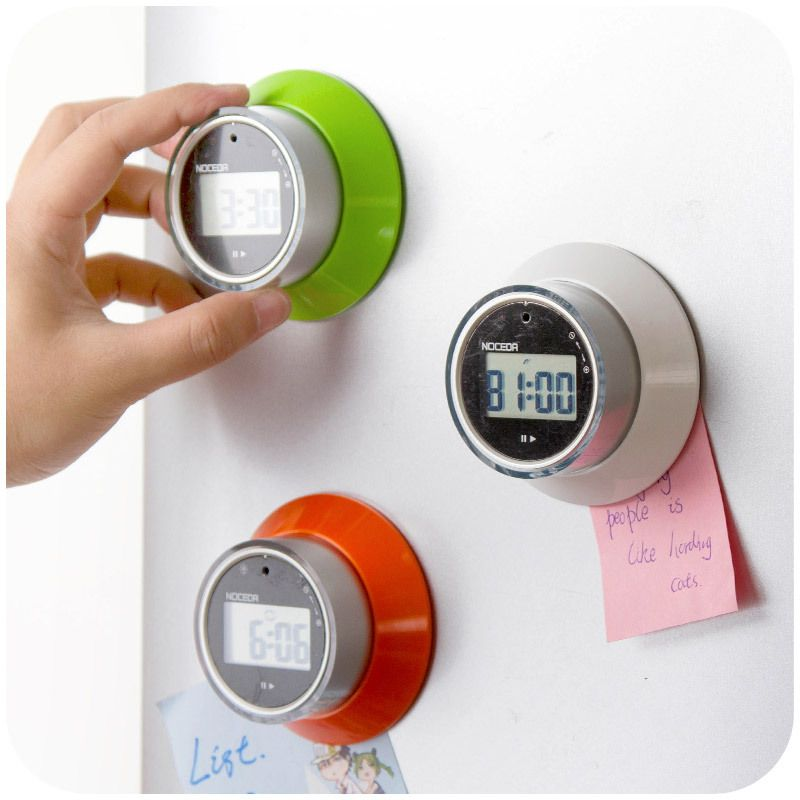 99 minutes kitchen timer, countdown timer rotating UFO magnet ...