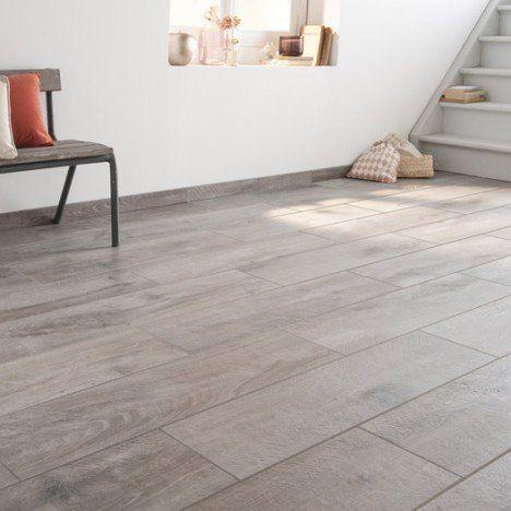 Carrelage sol et mur gris effet bois Heritage l20 x L80 cm - peindre du carrelage de sol