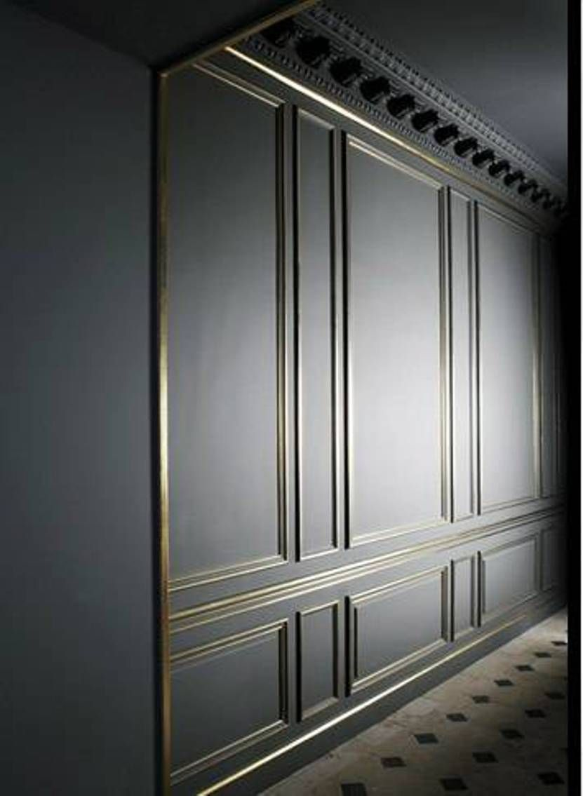 Black Wall Paneling : Home design and decor type of wall panel for the homes