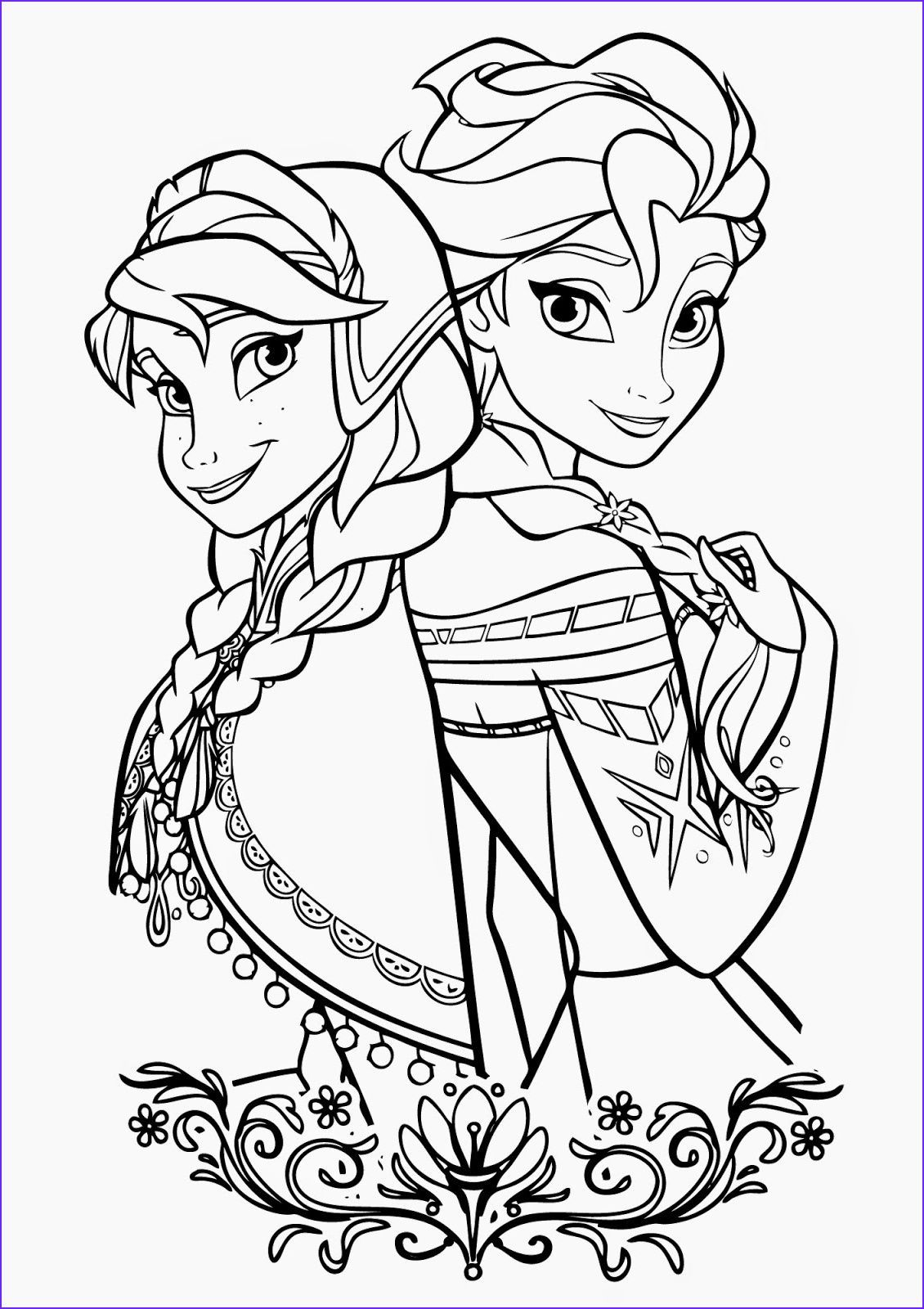 45 Inspirational Image Of Elsa And Anna Coloring Pages Coloring Page For Kids In 2020 Elsa Coloring Pages Princess Coloring Pages Elsa Coloring