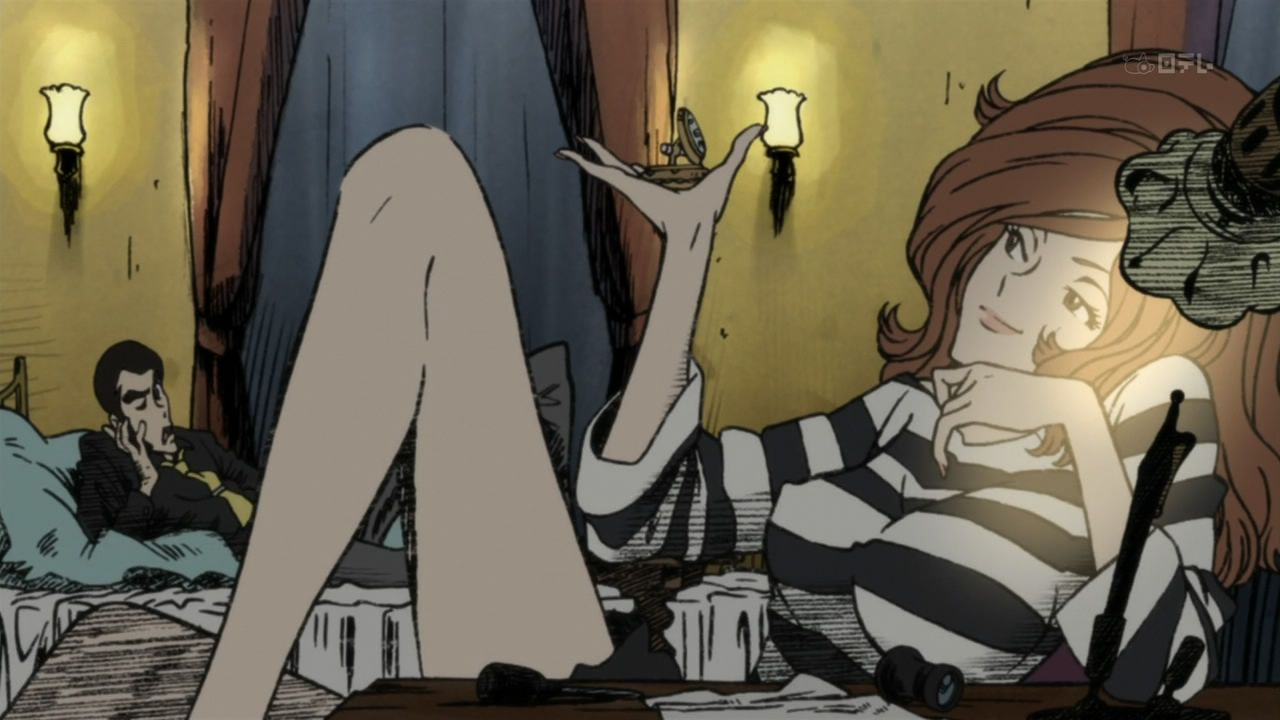 Fujiko Is Clearly Someone With No Self Respect, Thus She Does What She  Does. SearchingRespectCartoonsAnimated ...
