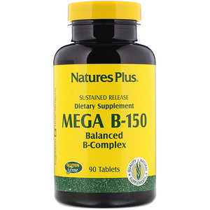 Nature S Plus ميجا ب 150 تركيبة فيتامين ب المتوازنة 90 قرص Iherb In 2020 Supplements Energy Supplements B Complex