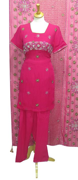 Churidar suitsare one of the very famous outfits in Indian and Pakistani women and girls.Churidar suit has just become fashion icon in Asian females. The fashion of this stylish dress has greatly changed. Colorful fabrics, bold and vibrant embroidery and bead work on Churidar suits looks magnificent and attractive to everyone.