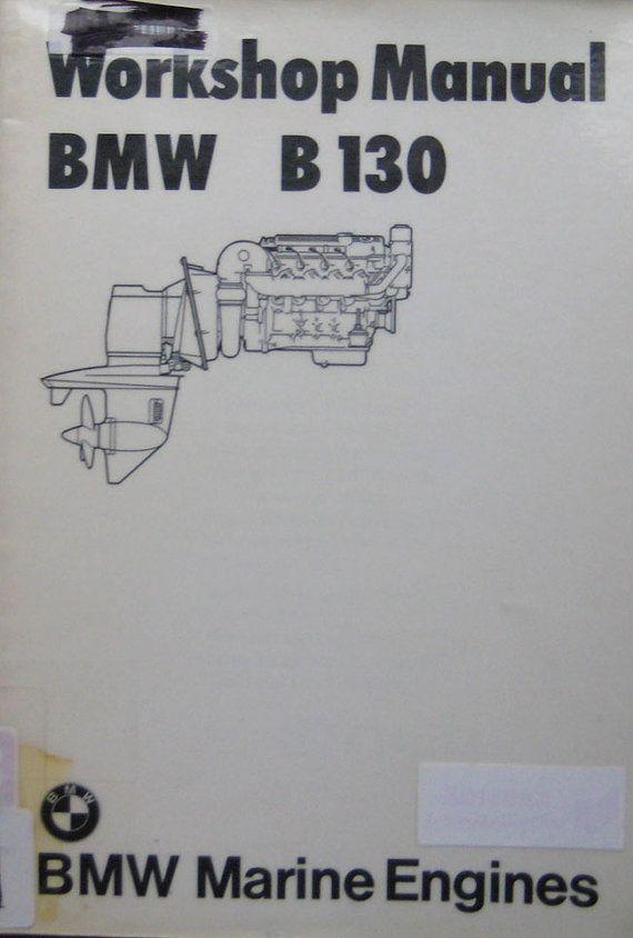 BMW B 130 Inboard Marine Engine Repair Manual by