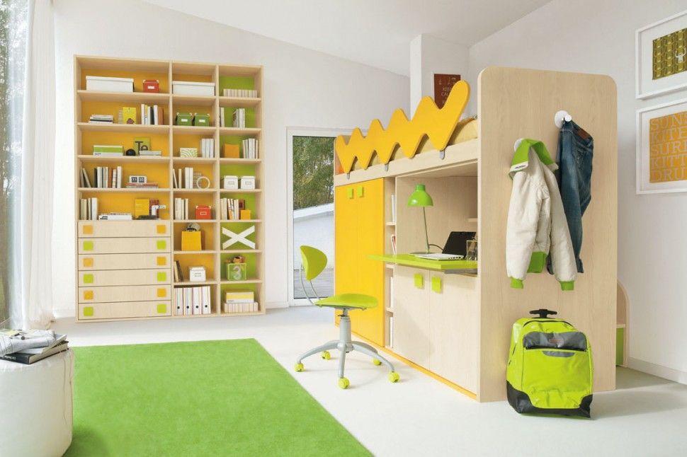 Libreria Cameretta ~ Cameretta golf libreria in acero cedro pistacchio e zafferano