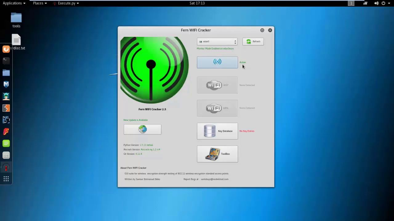 How To Hack Wifi Using Fern Wifi Cracker On Kali linux