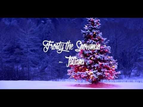 Frosty The Snowman Spanish Version By Tatiana Frosty The Snowmen Christmas Christmas Cards