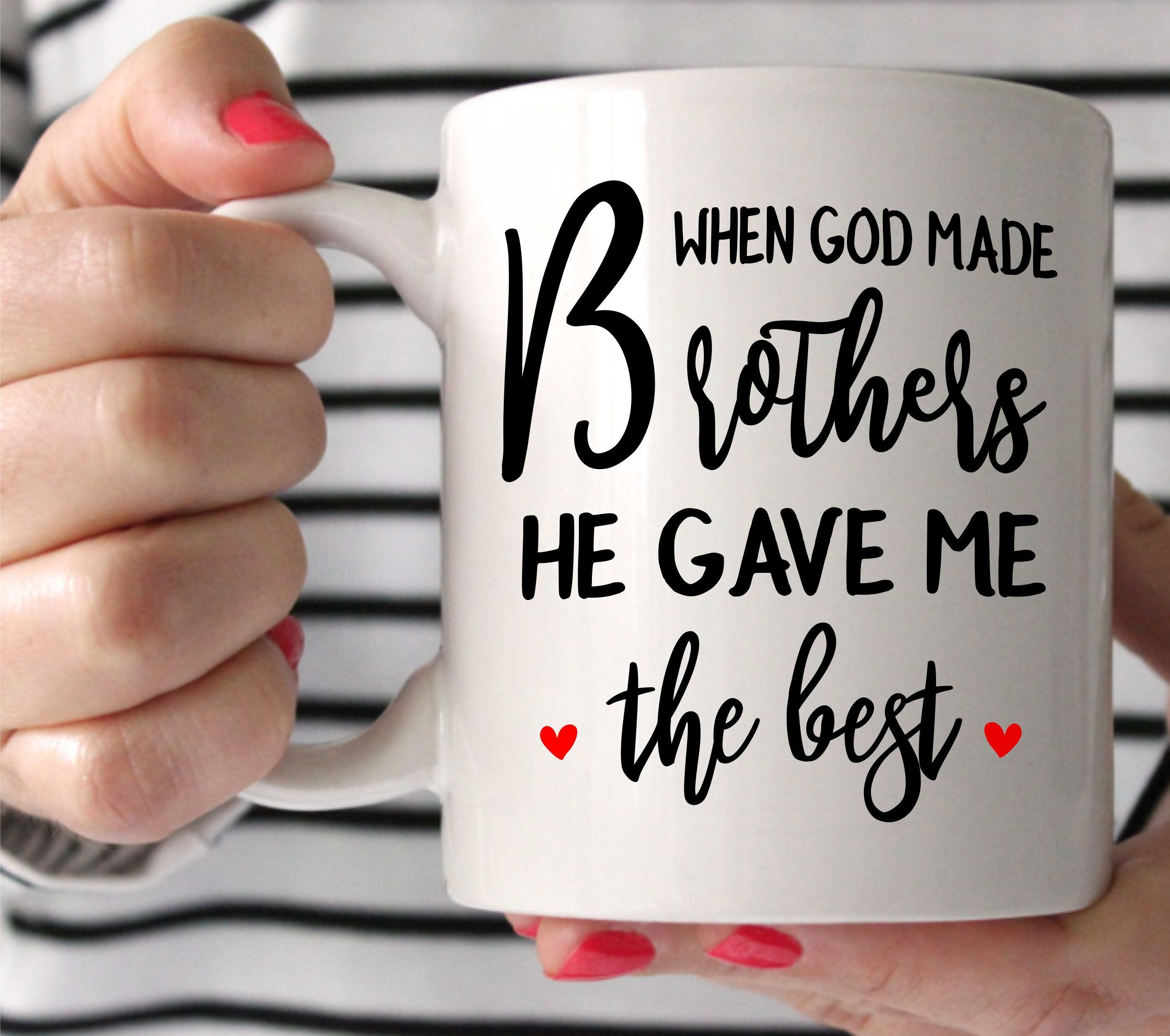 Best brother mugbrother giftbrother wedding giftgift