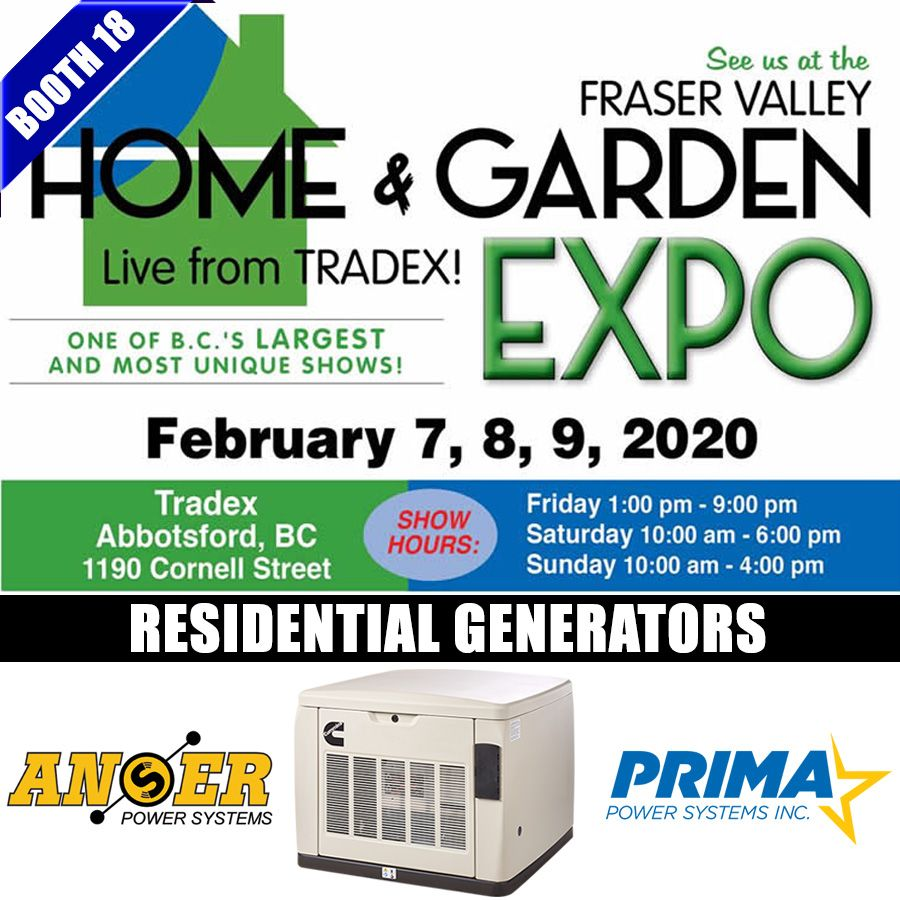 We'll Be At The Fraser Valley Home And Garden Expo Feb 7
