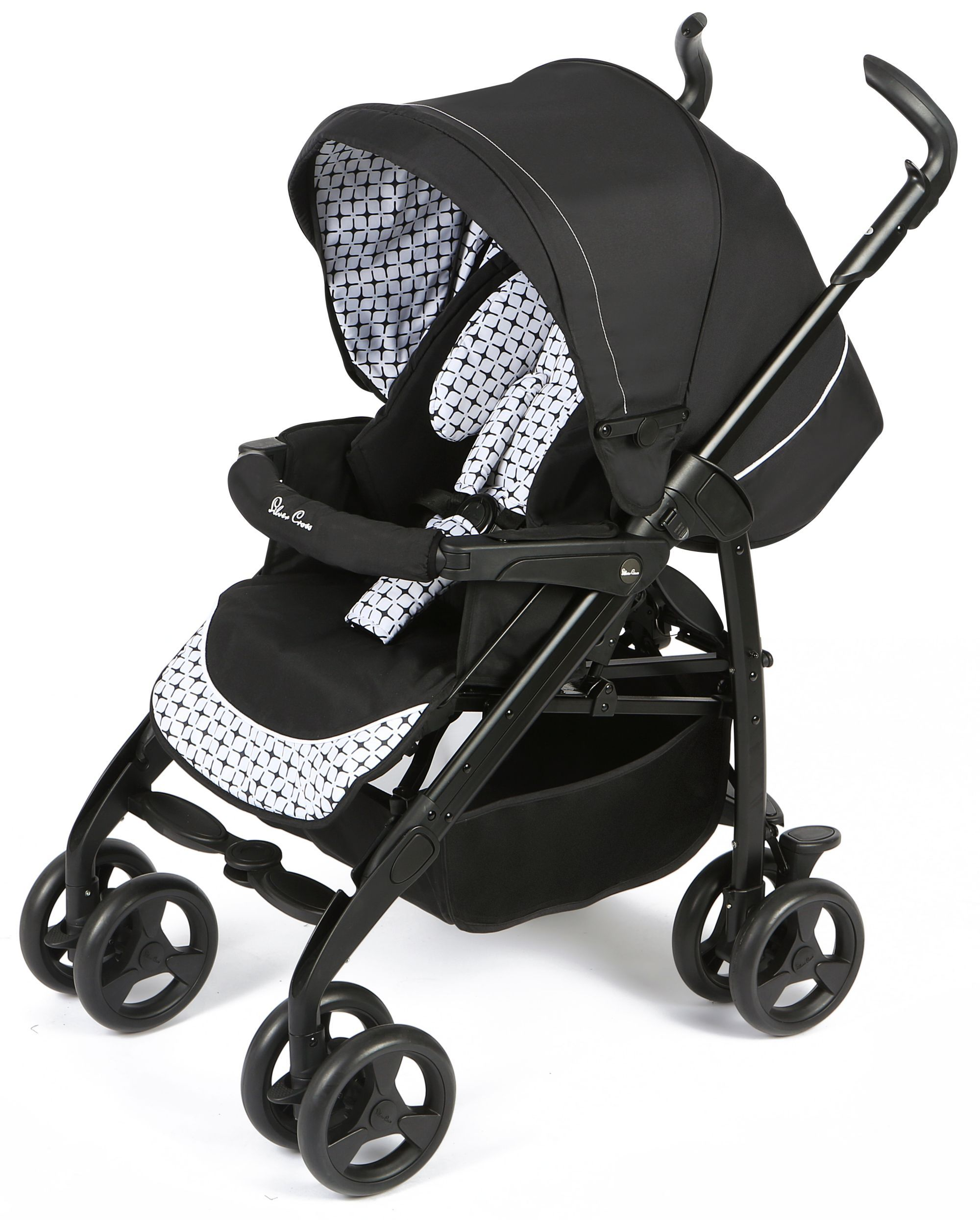 silver cross 3d pram and pushchair travel system. Black Bedroom Furniture Sets. Home Design Ideas