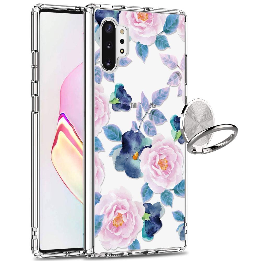 Amazon Com Giika Galaxy Note 10 Plus Case Clear Girls Women Heavy Duty Shockproof Protective Hard Pc Back Case W Kawaii Phone Case Galaxy Note 10 Phone Cases
