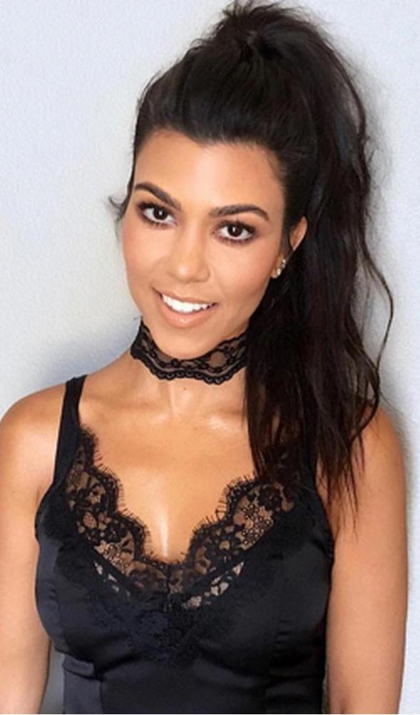 Kourtney Kardashian' in My Style Mode #facial   Kourtney ...