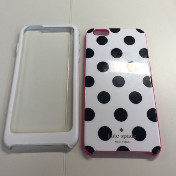 Kate spade polka dot case iPhone 6 Plus Kate spade case kate spade Accessories Phone Cases