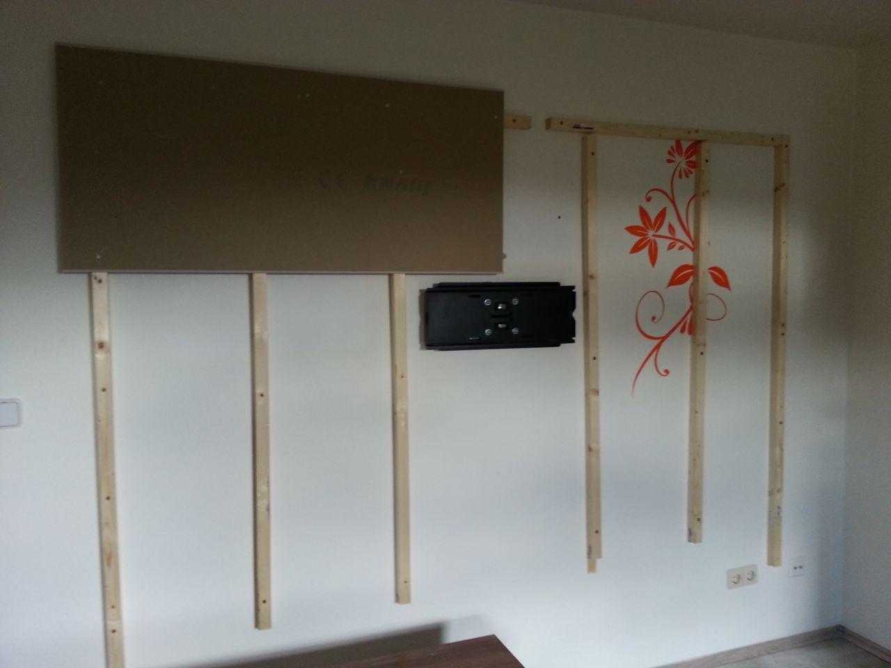Wohnwand Tv Wand Selbst Gebaut Teil 1 Tv Wand Selber Bauen
