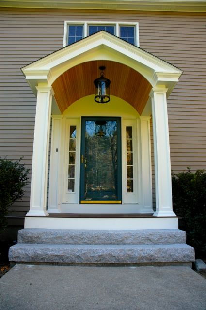Classic Home Remodeling Exterior Plans home entrance exterior design+classic 2 story home | feature