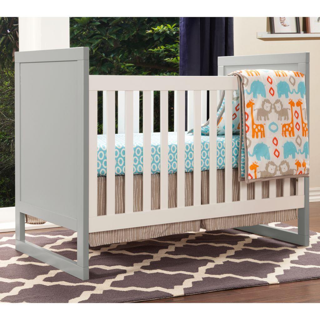 Baby Mod Modena Mod Two Tone 3 In 1 Convertible Crib Cribs Crib Bedding Sets