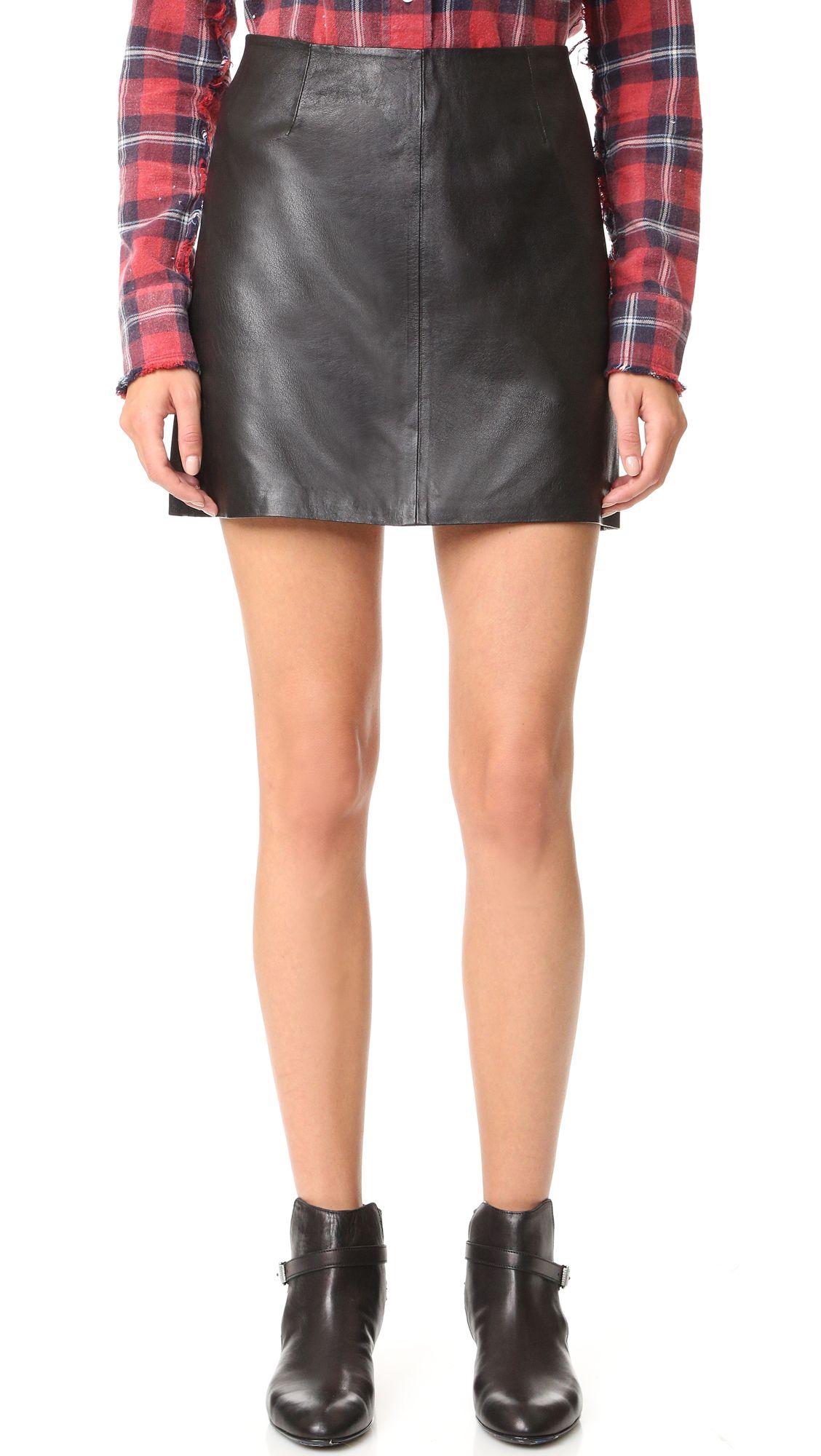 c659d022a6 BB DAKOTA . #bbdakota #cloth # | Bb Dakota | Leather mini skirts ...