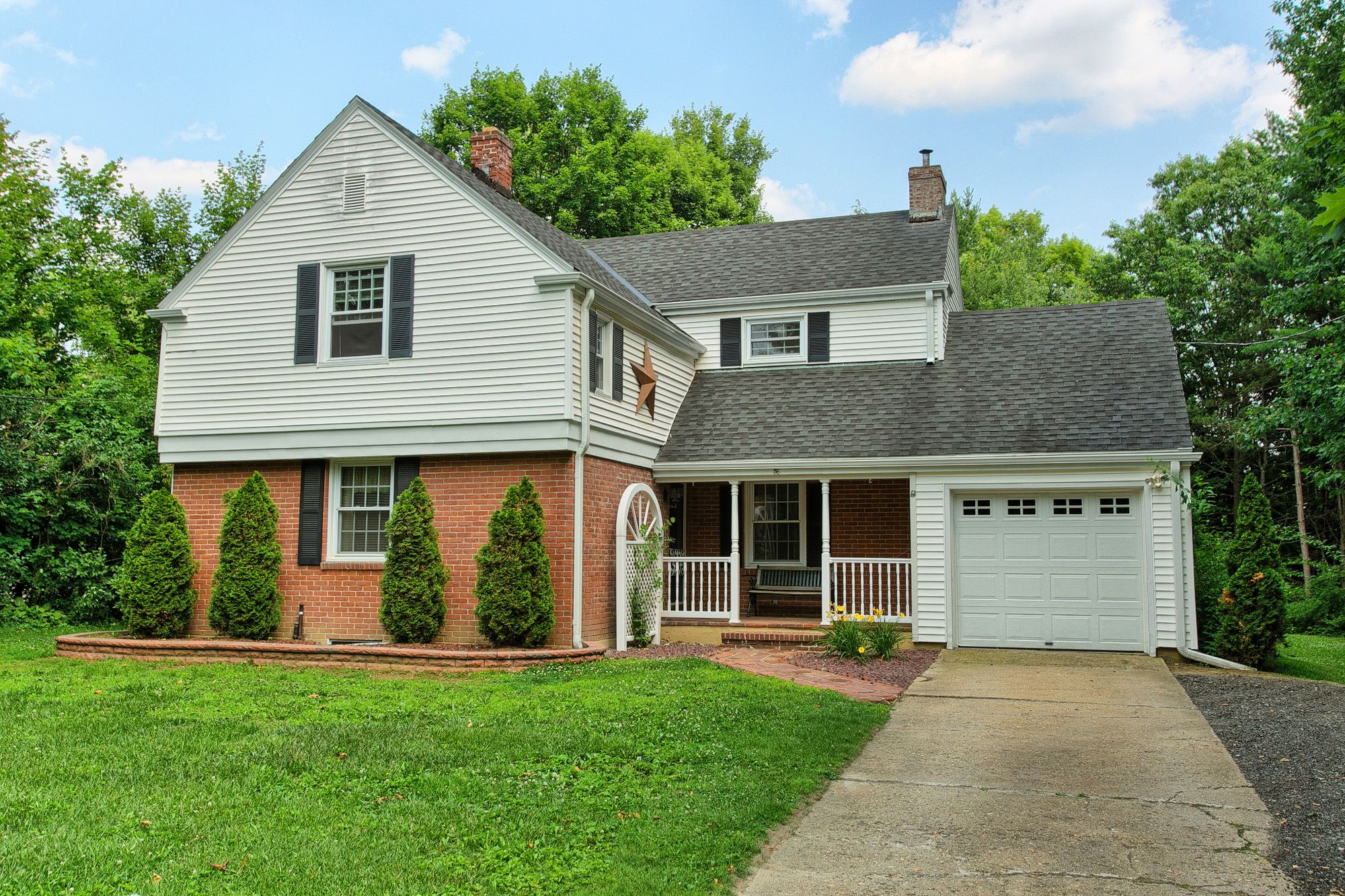 Newly listed, 3 bed, 1.5 bath colonial. Offering hardwood floors throughout. Sun room, formal dining room, living room. Three spacious bedrooms. Large yard, in ground pool, and garage parking!