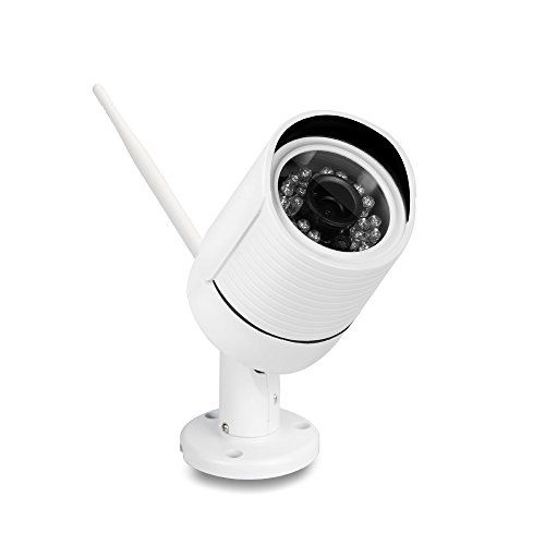 Ouvis C2 HD Waterproof WiFi Outdoor Wireless Security Camera, Free