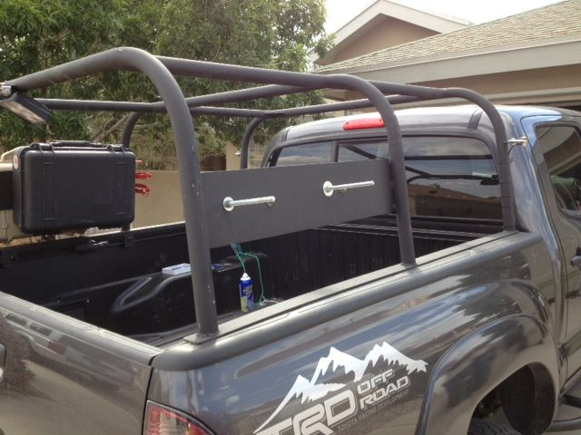 how to build a rack to hold a truck cap