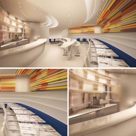 Arte y Gastronomía / Comer en Museos. The Wright, Guggenheim Museum, New York.