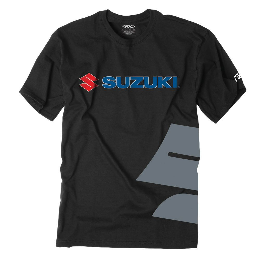 Factory Effex Official Suzuki Kids Tees Short Sleeve Youth T-Shirts