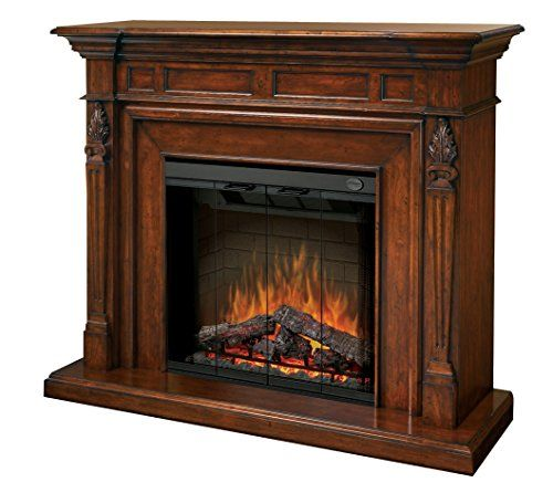 Dimplex Symphony Encore Torchiere Free Standing Electric Fireplace In Burnished Walnut Dimplex Http Fireplace Accessories Electric Fireplace Fireplace Remodel