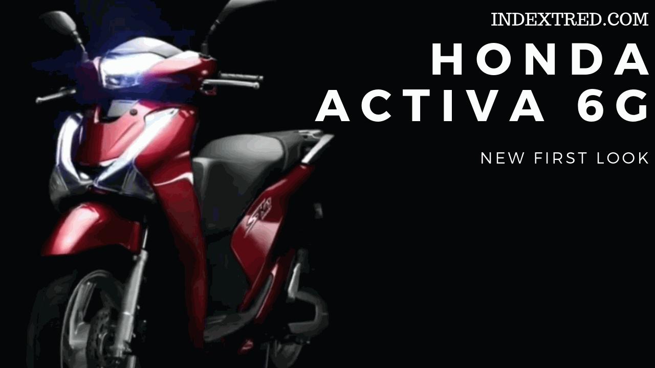 Activa6g Exshowroomfirstlook Hondaactiva6g Honda Activa 6g