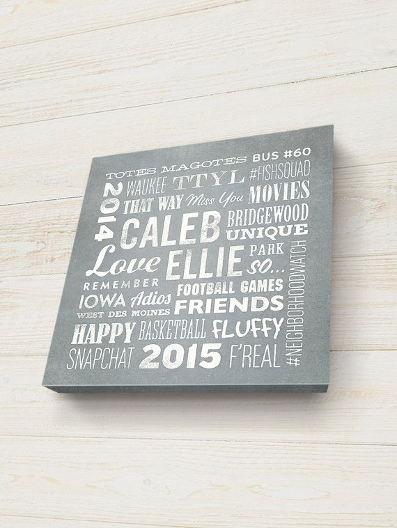 personalized word art