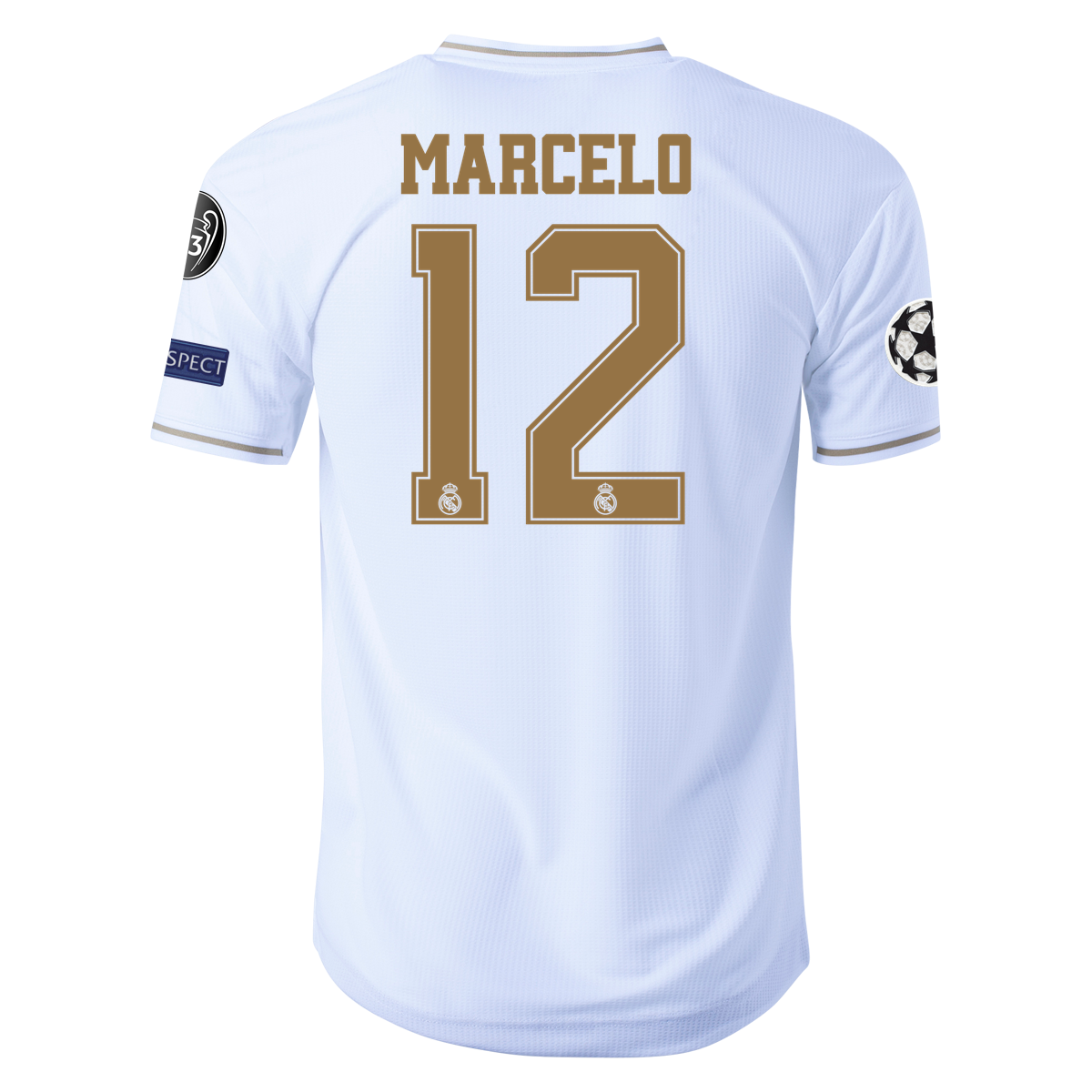 adidas Marcelo Real Madrid Authentic Home Jersey 1920 2xl