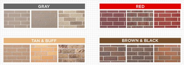 Best Examples Of The Colorcast Of Bricks House Exterior Color Schemes White Brick Houses Roof Colors 400 x 300