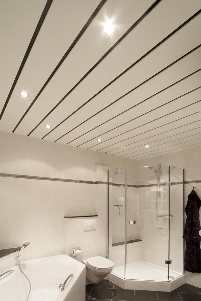 Luxalon I aluminium I plafond I badkamer | Plafonds | Pinterest ...