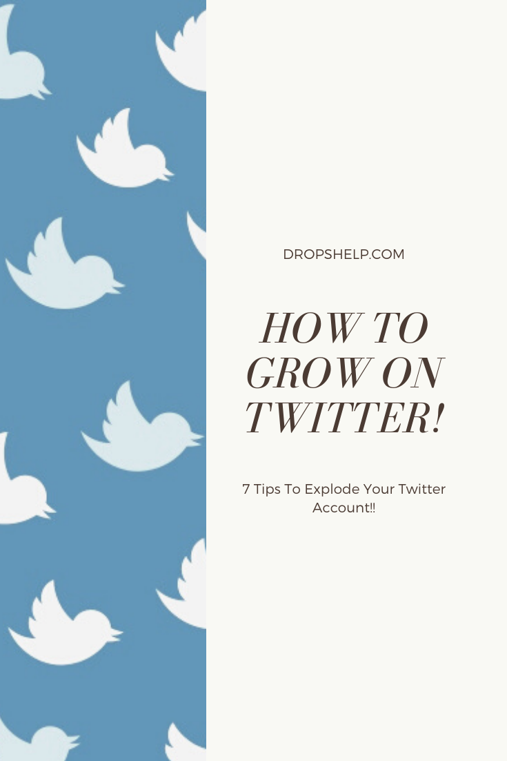 How To Grow Your Twitter Following Fast In 2020 Twitter For Business Tips And Tricks Twitter For Business How To Get Followers Twitter Marketing Strategy