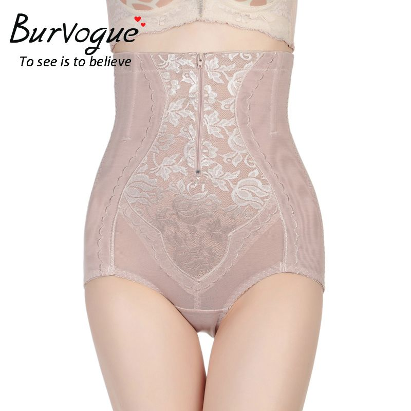 e3c2a18a62e36 Women Slimming High Waist Control Panties Underwear Body Shaper Lace Butt  Lift Shapewear XL-5XL