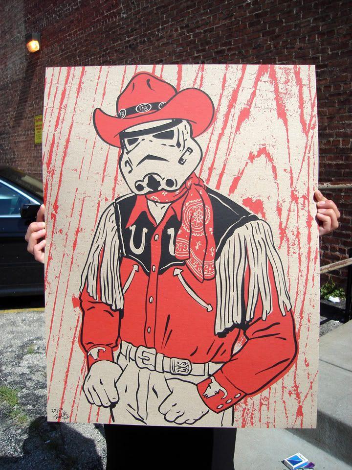 Stormtrooper Cowboy... yes please!   Cool Shit   Pinterest   Diy ...