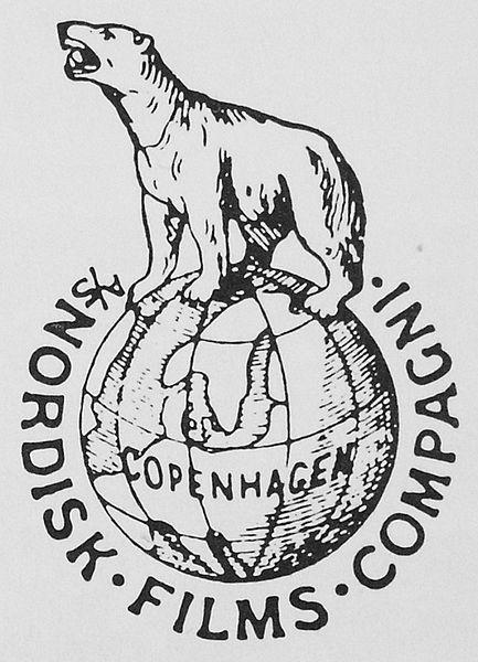 Nordisk films compagni logo.Registered as trademark in 1909