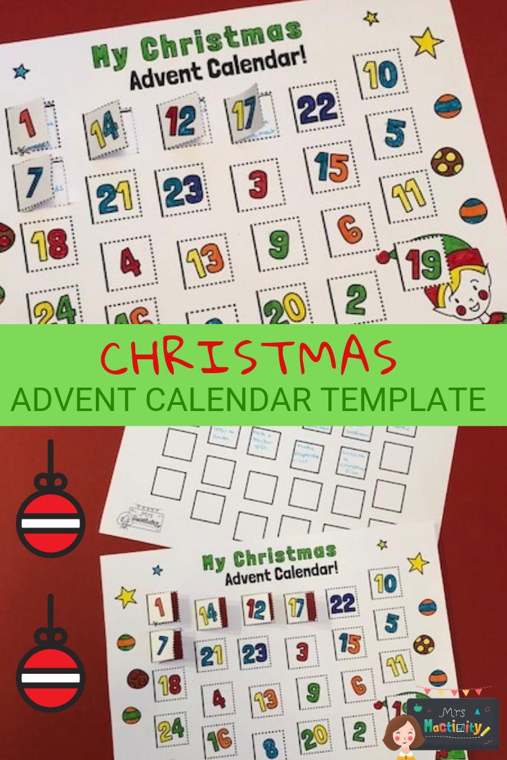 Free Christmas Calendar Resources Eyfs Ks1 Ks2 Printable Advent Calendar Christmas Advent Calendar Christmas Calendar [ 1102 x 735 Pixel ]