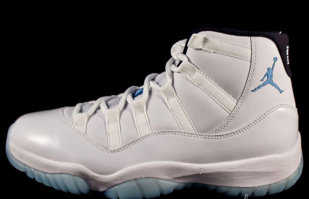 huge selection of 8db06 e290d NIKE AIR JORDAN 11 XI RETRO LEGEND BLUE COLUMBIA 378037-117 sz 11 DS NEW DS   Nike  BasketballShoes