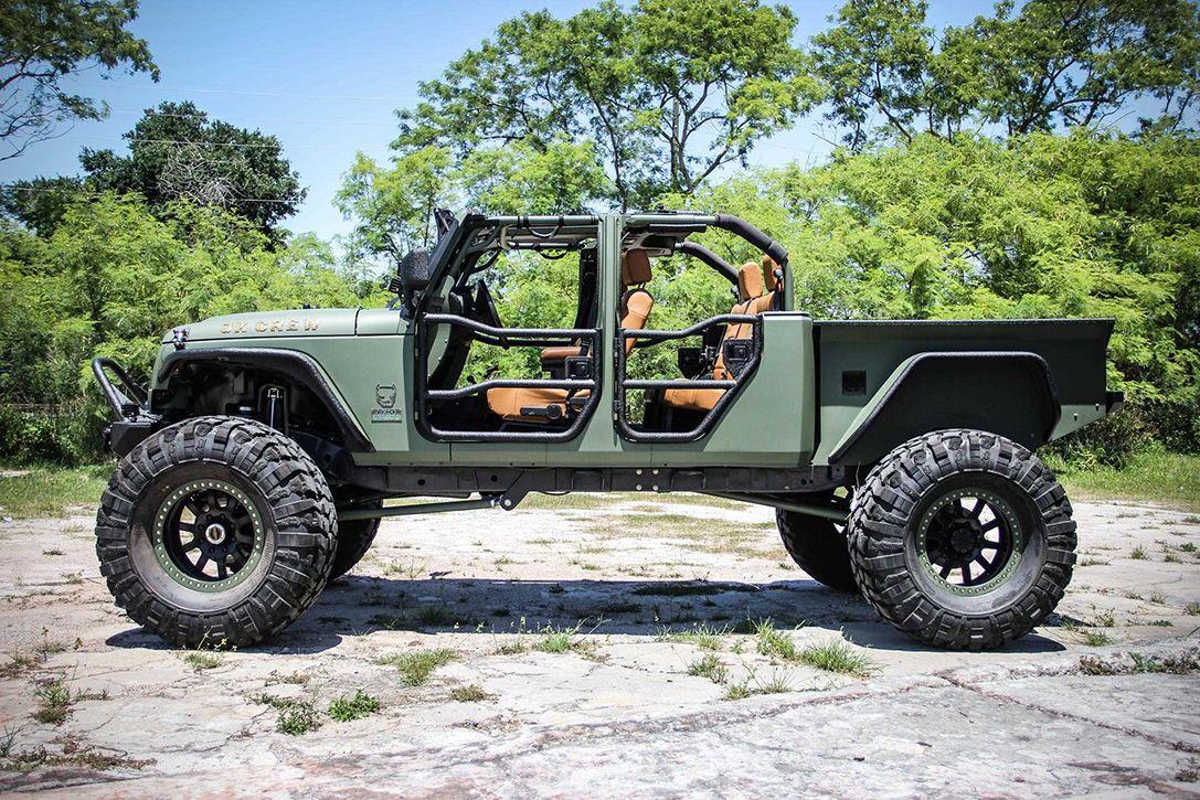 Bruiser Jk Crew Wrangler Jeep Wrangler Truck Wrangler Truck Jeep Wrangler Pickup Truck