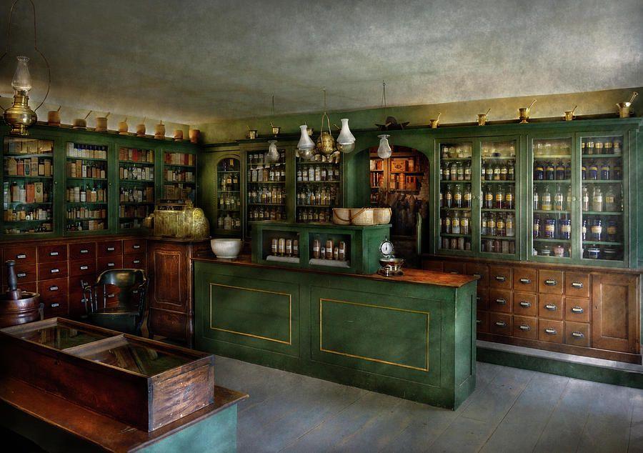 Maravilla Möbel pharmacy the chemist shop photograph by mike savad on