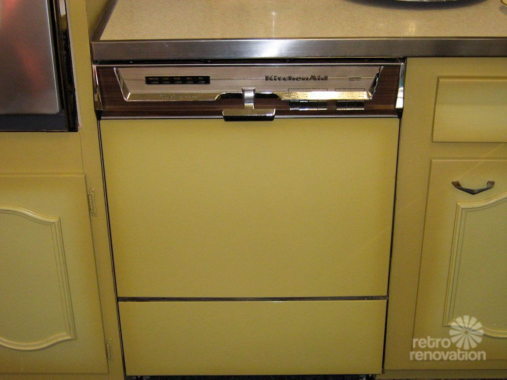 Never Used A 1960s Harvest Gold Kitchen For Sale In Worcester