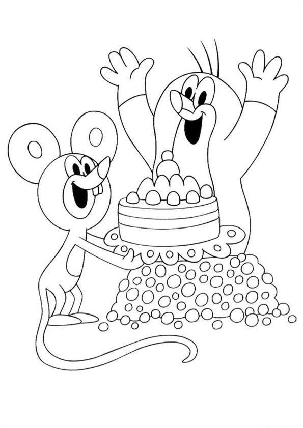 Der Kleine Maulwurf Ausmalbilder Ausmalbilder Kleine Maulwurf Geburtstag Malvorlagen Ausmalbilder Ausmalen