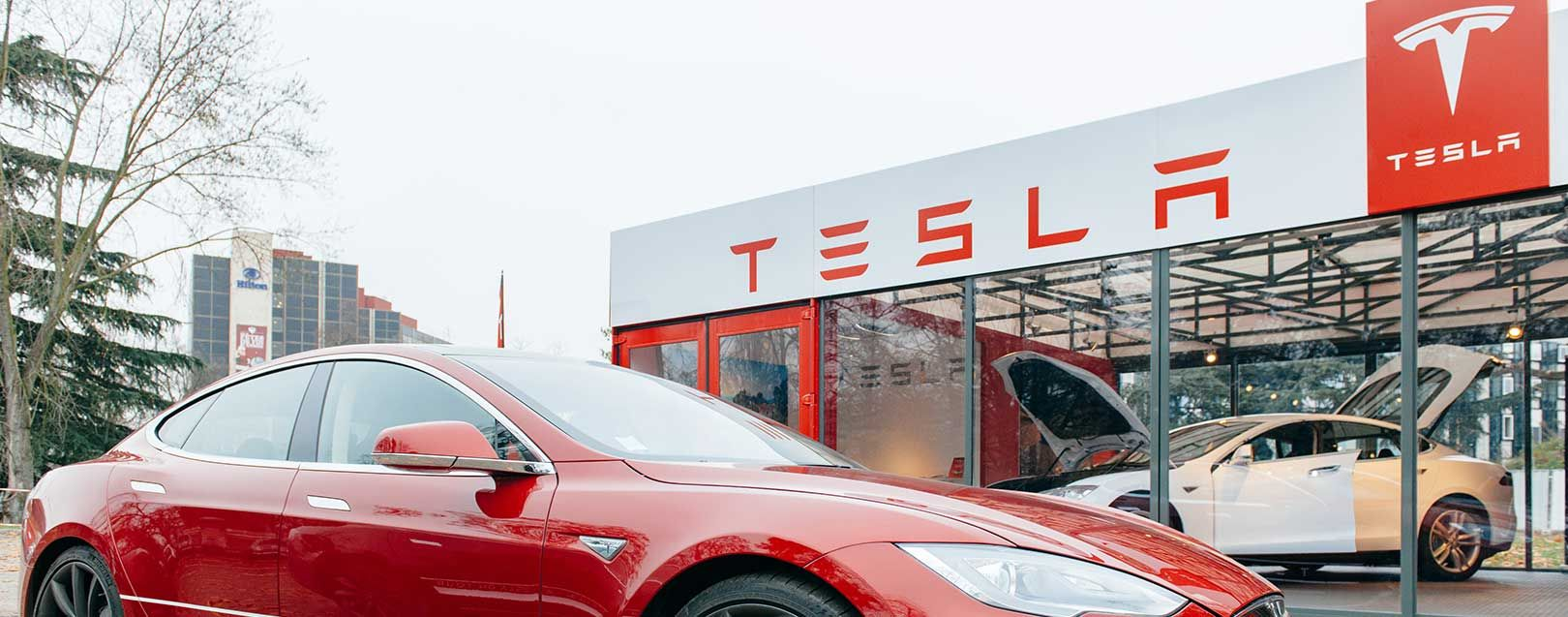 Imports and exports image by Foreign trade Tesla car