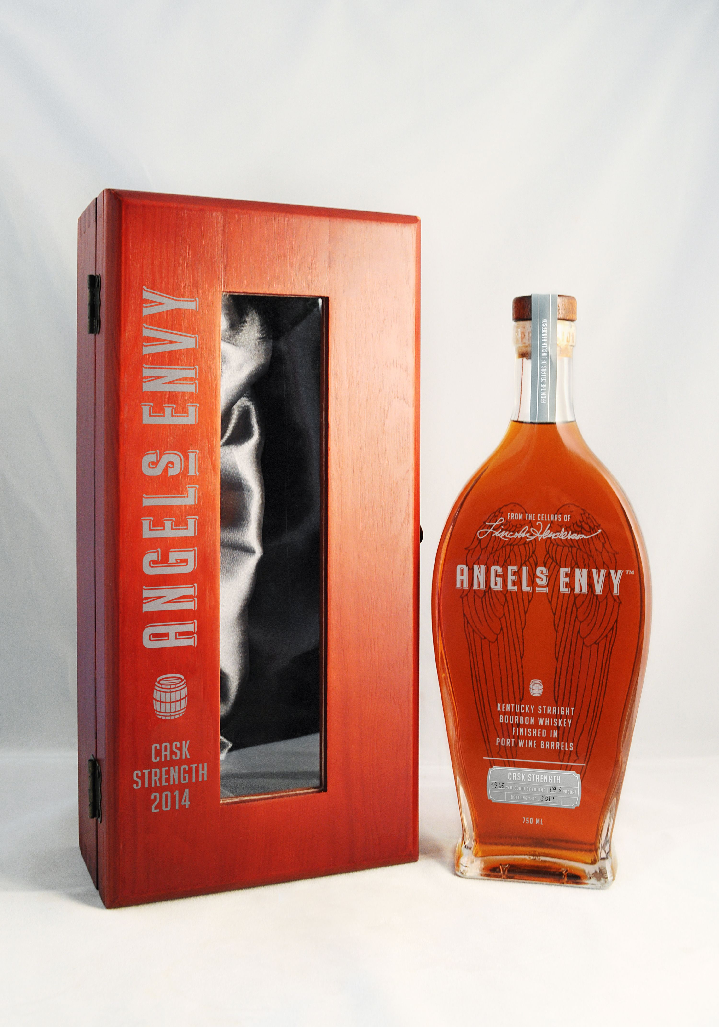 Angels Envy Cask Strength 2014 From Port Wine Barrels I Got This In The Wooden Presentation Box For My Husband For Christmas Cigars And Whiskey Bourbon Cask
