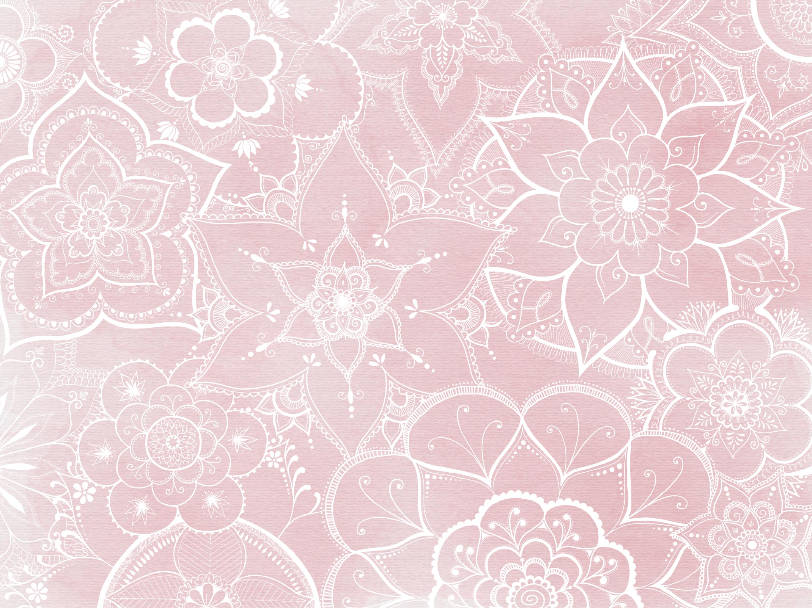 Pin On Ipad Pro Others Wallpaper: Dusty Pink Mandala Background Created On IPad Pro By @mol