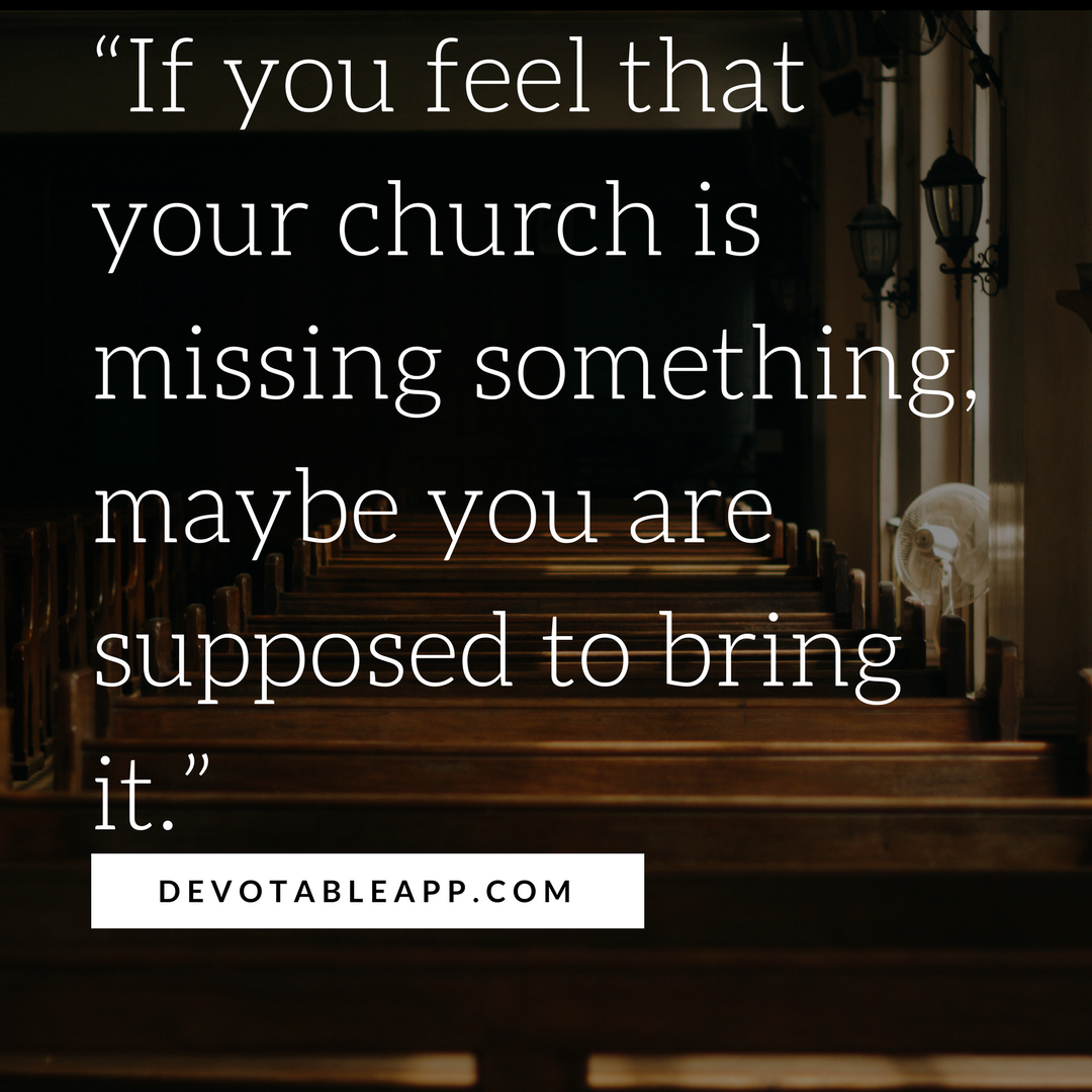 You are not in church, you are not deceived 37