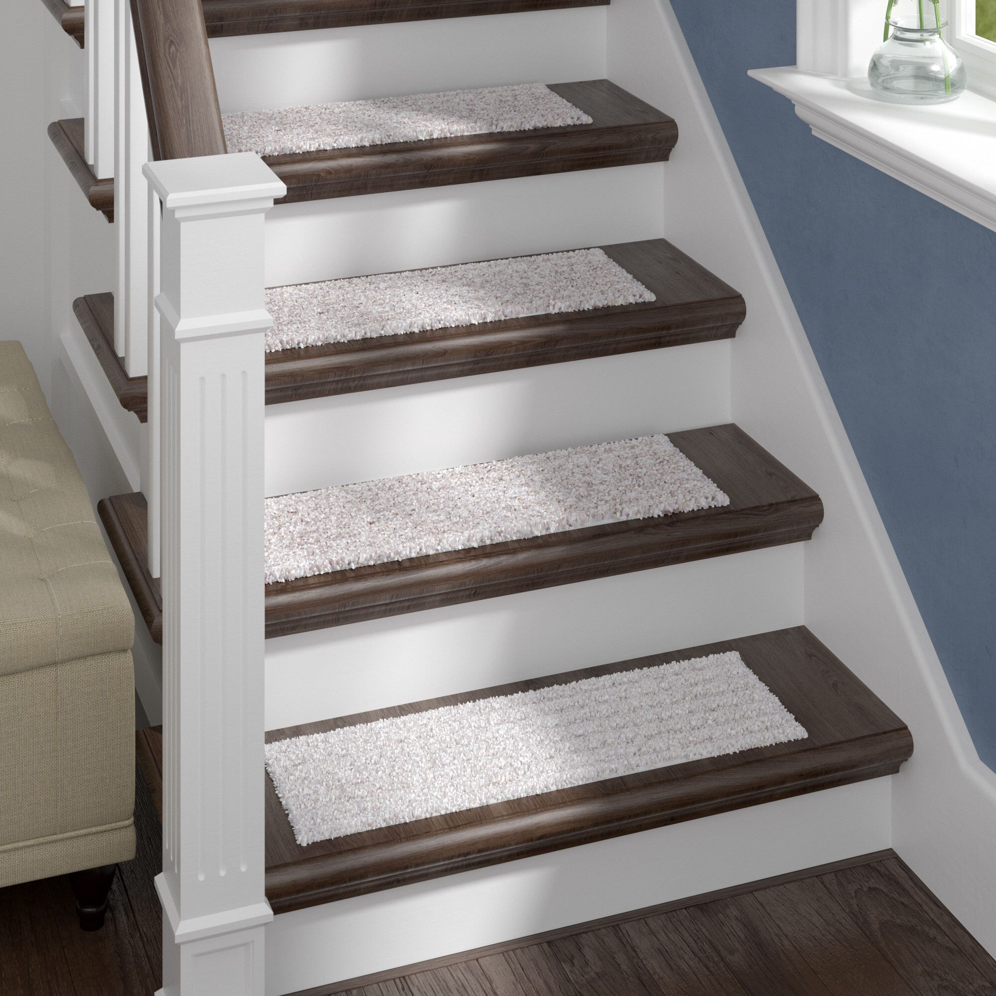 Best Berkine Natural Stair Tread Stair Tread Rugs Stair 400 x 300