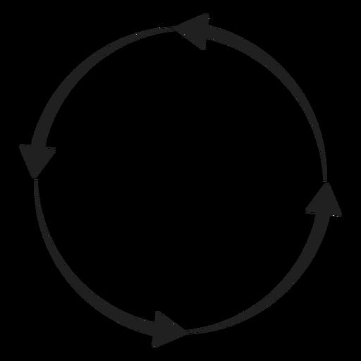 Four Arrows Circle Circle Element Ad Spon Ad Element Circle Arrows Circle Arrow Business Card Template Word Business Card Template Psd